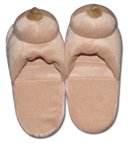 Papuče s plyšovými prsy,vel 7-8