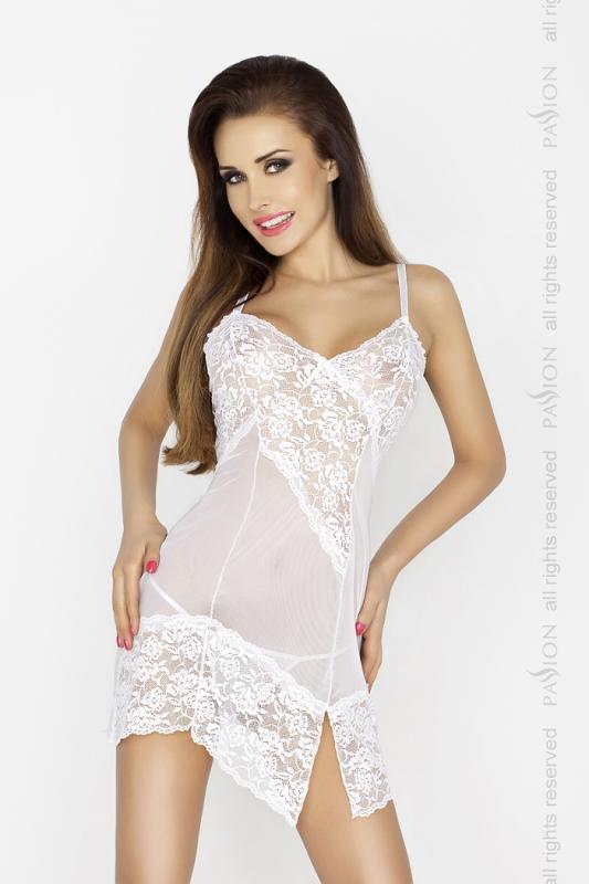 Passion AMARA CHEMISE white L/XL