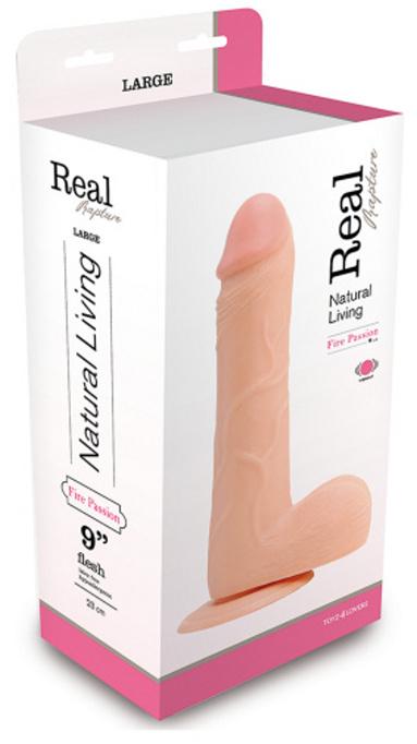 Real Rapture Vibe Flesh 9 Inch