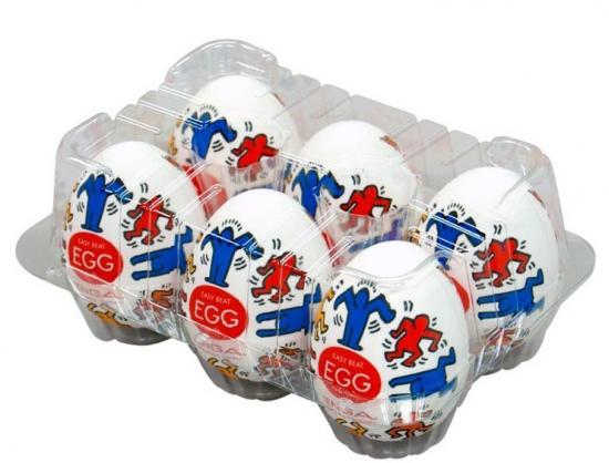 Masturbační vajíčko Keith Harings Egg Dance 1ks