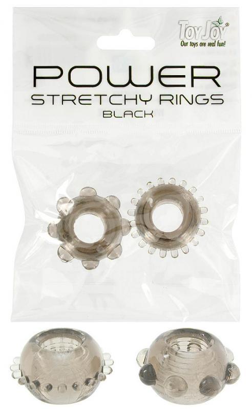 Power Stretchy Rings Smoke 2Pcs