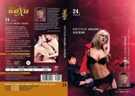 Škola sexu DVD 24. Erotické holení