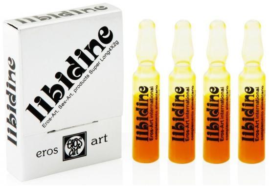 Libidine Afrodisiaco Natural 4 capsules