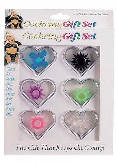 Cockring gift set 6 teelig