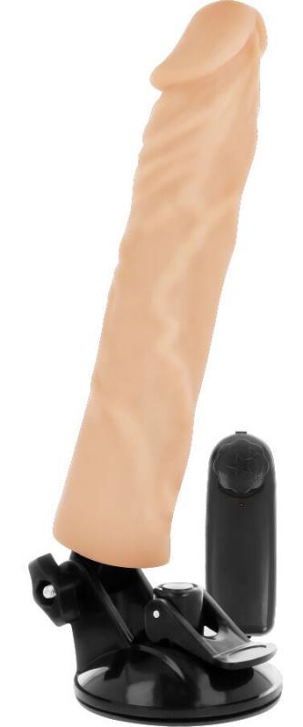 Basecock Realistic Vibrator RC Flesh 21cm