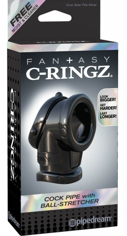 Fantasy C-Ringz Cock Pipe With Bal