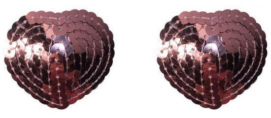 Pasties Burlesque Rand Pink