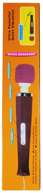 Magic Massager Wand Kabel 220 Violet