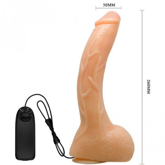 Penis Vibration Realistic Curved