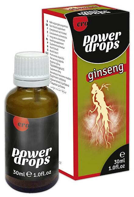 """Afrodisiakální kapky """"Energy Drops Ginseng"""""""