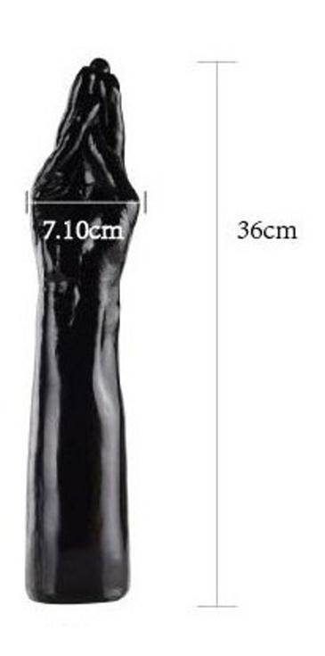 Black Go Hand 17, 36cm