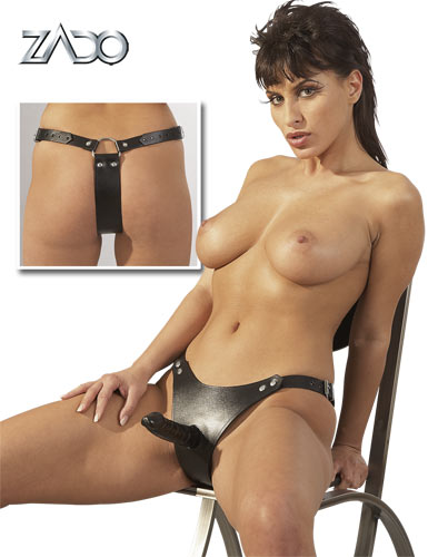 Leather Strap-on S-L