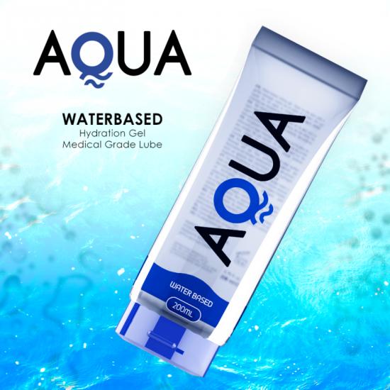 Aqua Quality Waterbased Lubricant 200ml
