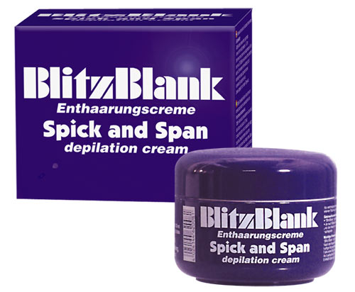 BlitzBlank Enthaarung.125 ml(cs)