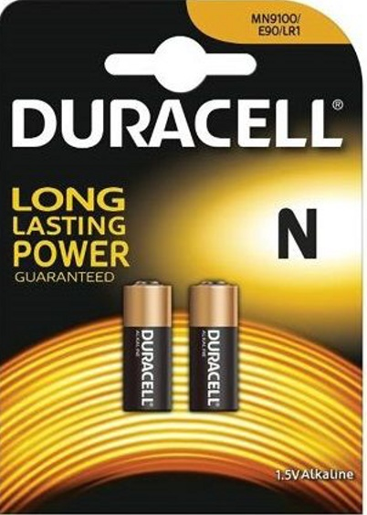 Duracell Battery MIN9100 N LR1, 1.5V 2ks