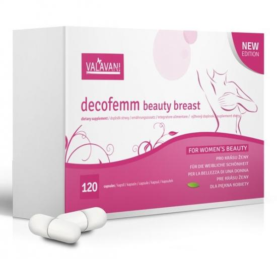 DecoFemm Beauty Breast 120 kapslí