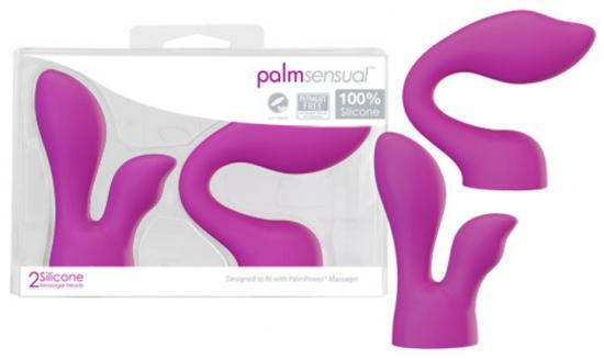 Nástavce PalmSensual pro masážní hlavici Powerbullet PalmPower