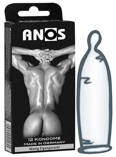 Extra silné kondomy Anos 12 ks