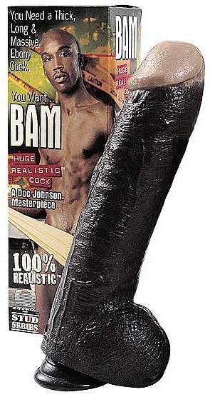 Penis realistický king černý