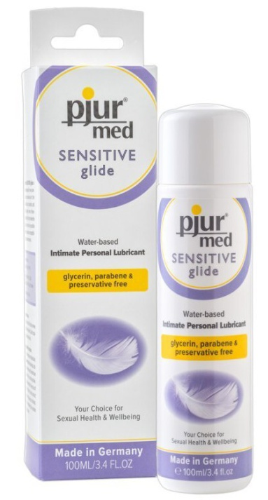 Lubrikační gel pjur med Sensitive Glide 100ml