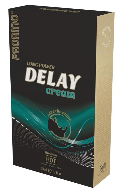 Krém proti předčasné ejakulaci Ero Prorino Long Power Delay Cream (50 ml)