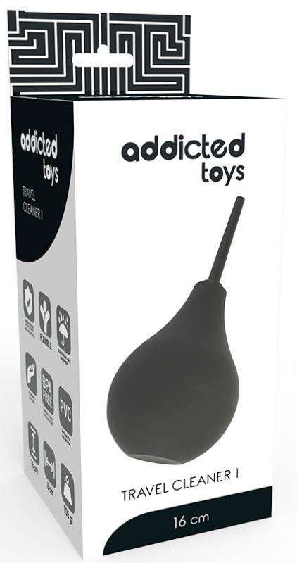 Adiccted Toys Anal Douche Black