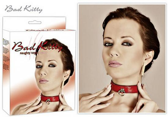 Bondage ColLar red Bad Kitty