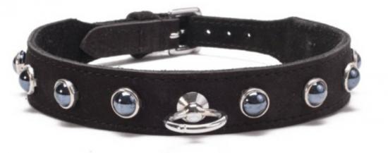 Octane Crystal Collar - Black