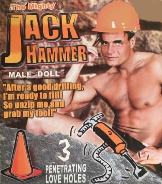 Jack Hammer-Nafukovací mužská postava