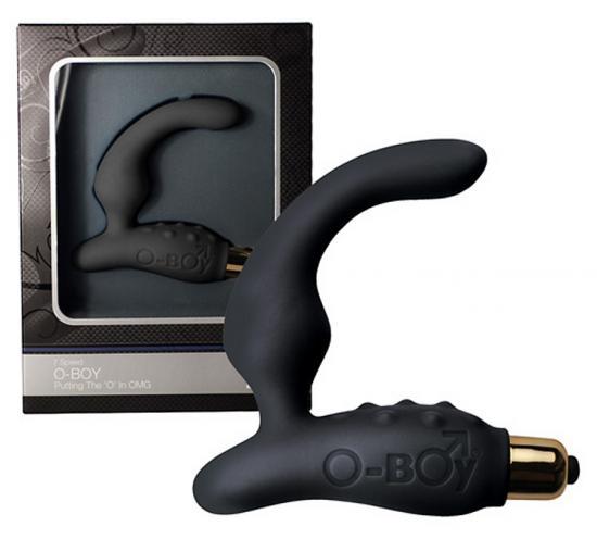Vibrační silikonový stimulátor prostaty Rocks Off O-Boy 7