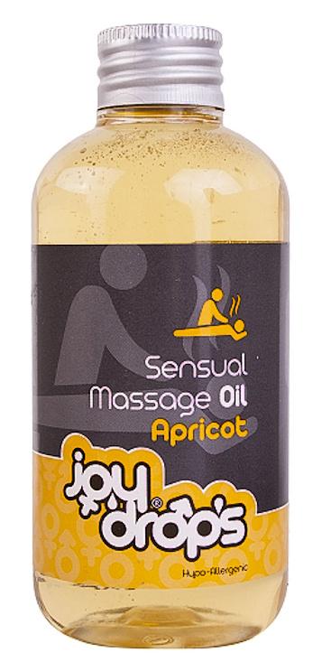 JoyDrops smyslný Massage Oil Apricot 250 ml