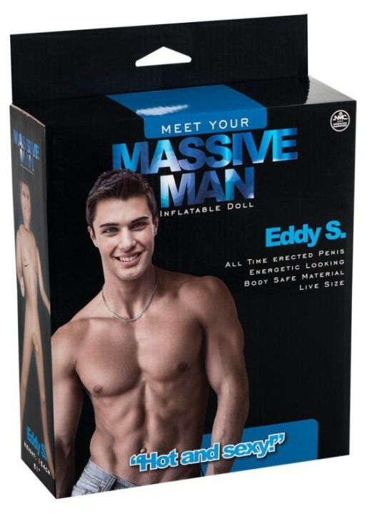 Nafukovací muž Massive Man Eddy S.