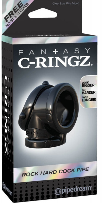 Fantasy C-Ringz Rock Hard Cock Pipe