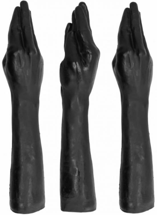 All Black Fist Fuck Fisting 40cm