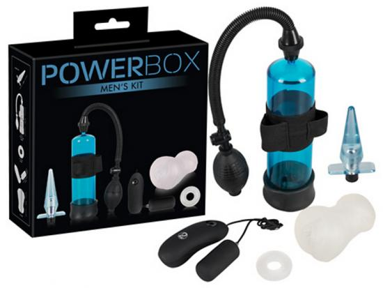 Power Box Men Kit-set erekční pumpy