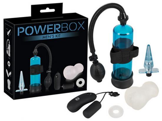 Power Box Men Kit-set erekční pumpy