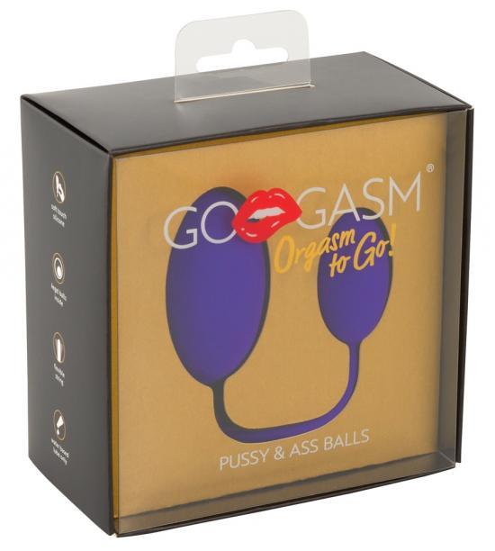 GoGasm Pussy a Ass Balls