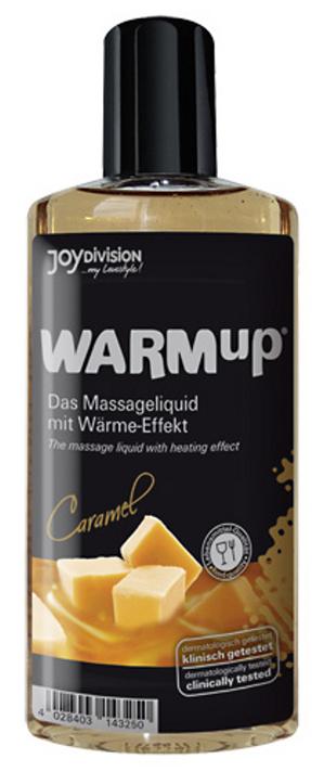 Jedlý masážní olej s příchutí karamelu Warm Up 150 ml