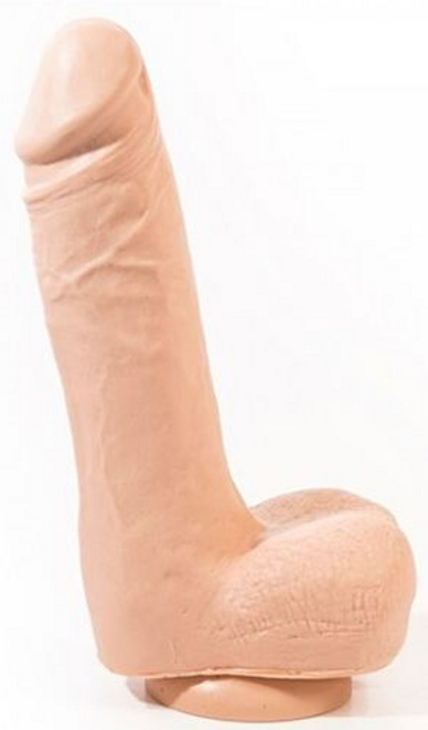 Anton Realistic Dildo Flesh 21.5 Cm