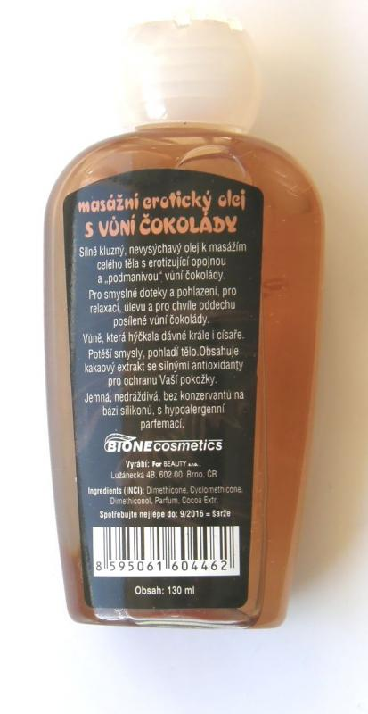 LONA masáž.er.silik.olej-čoko 130ml