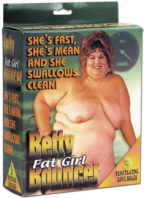 Betty - nafukovací panna