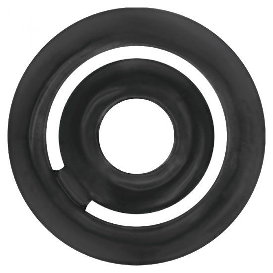 Addicted Toys Potenz C-Ring Penis Black