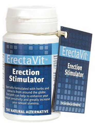 Tablety na posílení erekce ErectaVit 15 kapslí