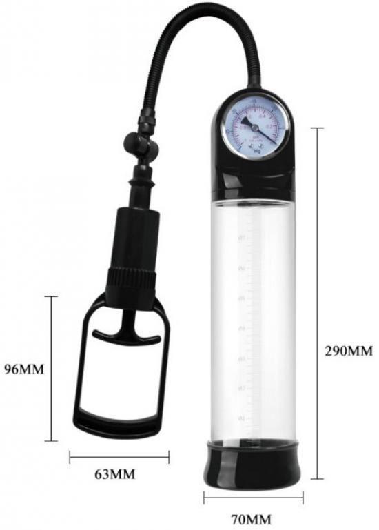 Alexander Pennis Pump With Barometer