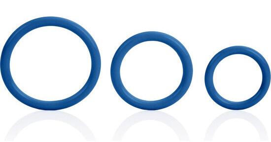 Calex Tri-Rings Blue