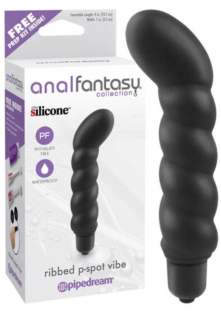 Anal Fantasy Ribbed P-Spot Vibe