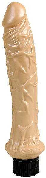 PEARL SHINE FLESH VIBRATOR 25 cm