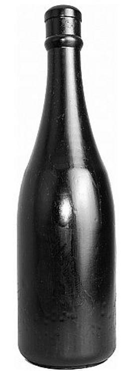 All Black Anal Bottle 34,5cm