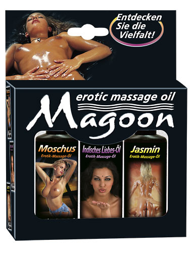 3er Set Massage-Öle 50 ml