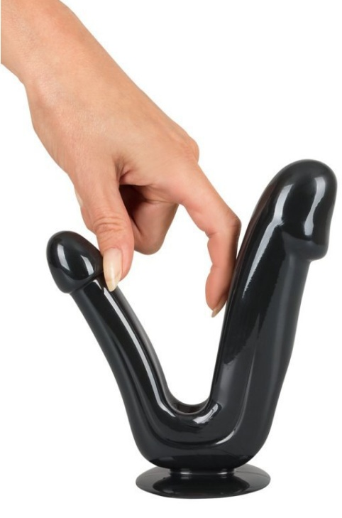 BK Duo Dildo black
